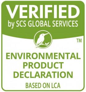 SCS_Verified_EnvProducDeclarationBasedonOnLCA_1CG